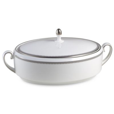 Vera Wang Wedgwood® Grosgrain 1 1/2-Quart Covered Vegetable Dish