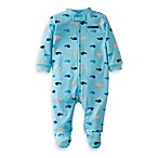 Carter's® Blue Whale Preemie 1-Piece Footie
