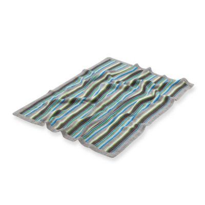 Stokke® Knitted Stroller Blanket in Rugby Blue