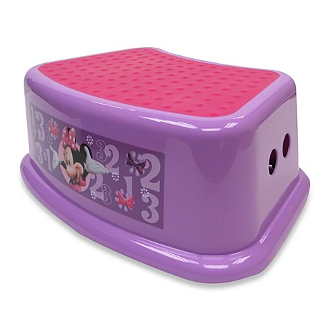 Ginsey Disney 174 Minnie Mouse Step Stool Bed Bath Amp Beyond