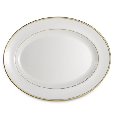 Vera Wang Empress Jewel 15 1/4-Inch Oval Platter