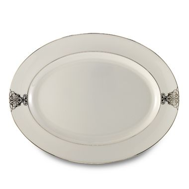 Vera Wang Wedgwood® Imperial Scroll 15.25-Inch Oval Platter