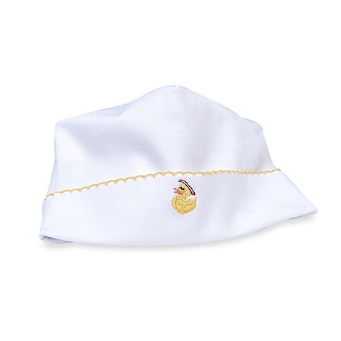 Buy Margery Ellen Baby Duck Embroidered Pima Cotton Hat In