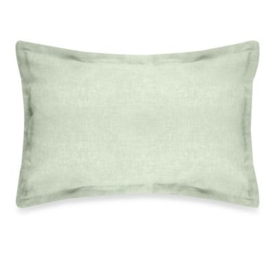 Veratex Gotham Boudoir 100% Linen Throw Pillow in Sage