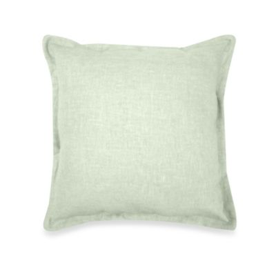 Veratex Gotham Square Toss Pillow in Sage