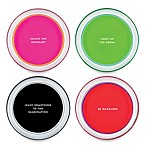 kate spade new york Fairmount Park Neon Coasters (Set of 4)