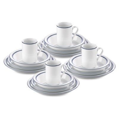 Lenox® Christianshavn Blue 16-Piece Dinnerware Set