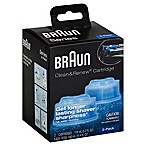 Braun Clean & Renew Refill Cartridges (Set of 2)