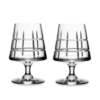 Orrefors Street Cognac Glasses (Set of 2)