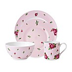Royal Albert New Country Roses Casual Pink 4-Piece Place Setting