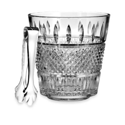 Waterford® Irish Lace Ice Bucket with Tongs