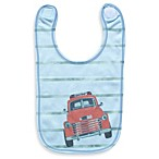Clever Birds® Photo Red Truck Snapshots Reversible Bib