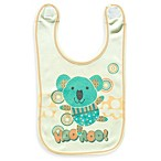 Clever Birds® Koala Bear Patchwork Animals Reversible Bib