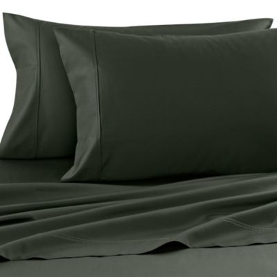 Wamsutta® 400 Thread Count Dual King Sheet Set in Hunter Green
