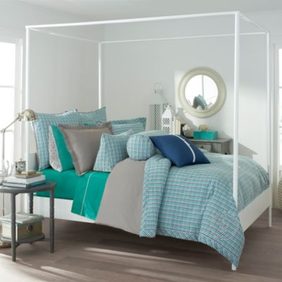 Southern Tide® Peninsula Check Yarn Dyed Comforter Set