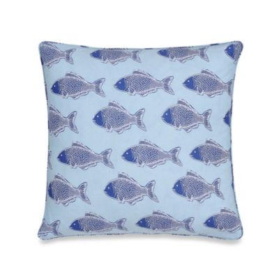 Hampton Clam Square Toss Pillow