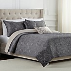 Medallion Reversible Quilt Set in Platinum