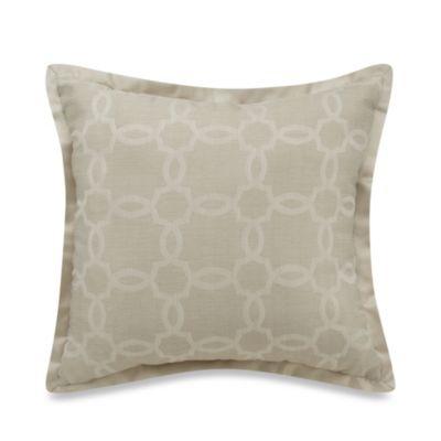 Westport Geo Square Throw Pillow