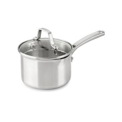 Calphalon® Classic Stainless Steel 1.5 qt. Covered Sauce Pan