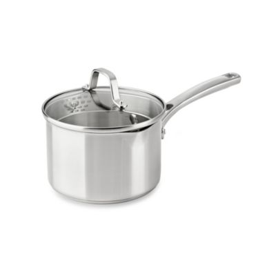 Calphalon® Classic Stainless Steel 2.5 qt. Covered Sauce Pan