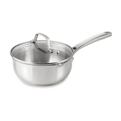 Steel Calphalon Chef's Pan