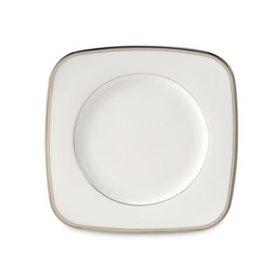 Waterford® Kilbarry Platinum 9-Inch Square Accent Plate