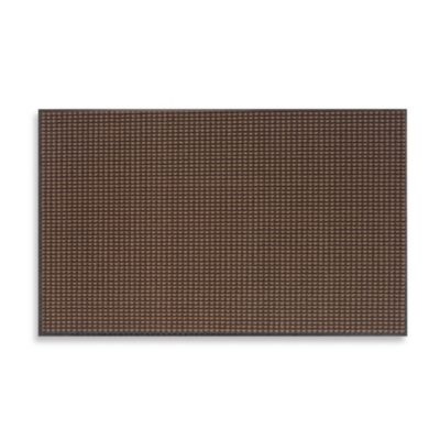 Prestige Vinyl 48-Inch x 72-Inch Door Mat in Brown