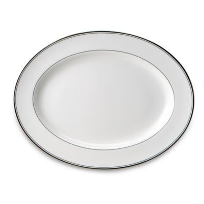 Waterford® Kilbarry Platinum 15 1/4-Inch Oval Platter