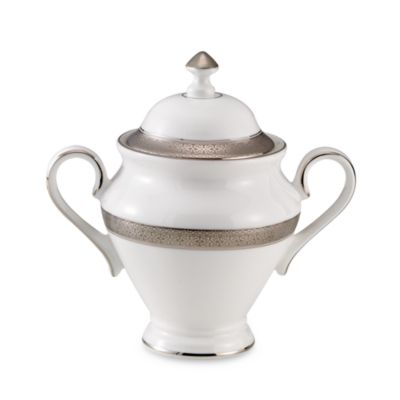 Waterford® Newgrange Platinum Covered Sugar Bowl