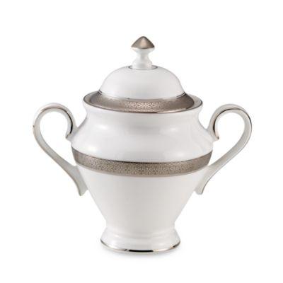 Waterford® Newgrange Platinum Covered Sugar Bowl