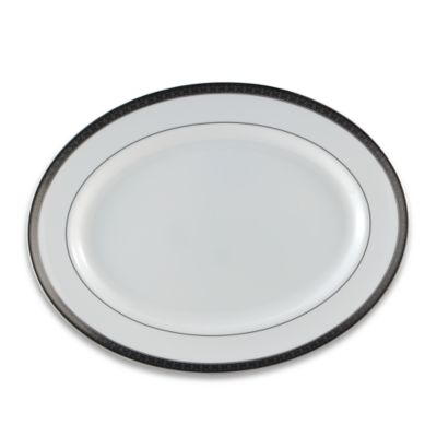 Waterford® Newgrange Platinum 15 1/4-Inch Oval Platter