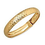Polished and Diamond Cut Flex Checkerboard 14K Yellow Gold