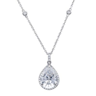 Platinum Pendant Necklace