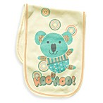 Clever Birds® Koala Bear Patchwork Animals Burp Cloth