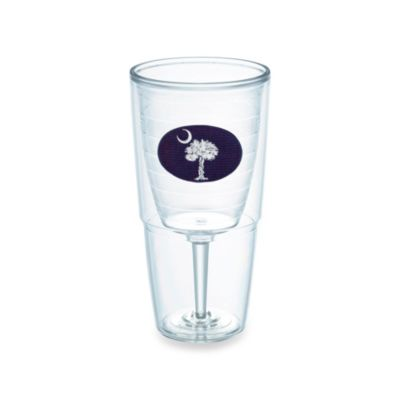 Tervis® Palmetto State 16–Ounce Goblet in Navy