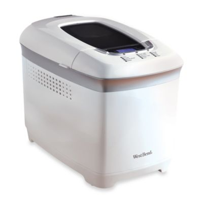 West Bend® 2-Pound Hi-Rise™ Bread Maker in White