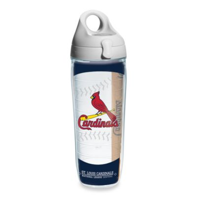 Tervis® St. Louis Cardinals 24-Ounce Emblem Water Bottle with Lid