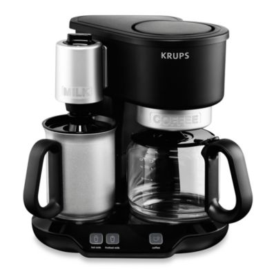 Krups Coffee Maker And Frother : Krups KM3108 Latteccino Coffee Maker with Milk Frother - Bed Bath & Beyond