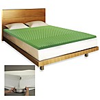 BIOS™ Memory Foam Ache/Pain Relief Mattress Topper in Green
