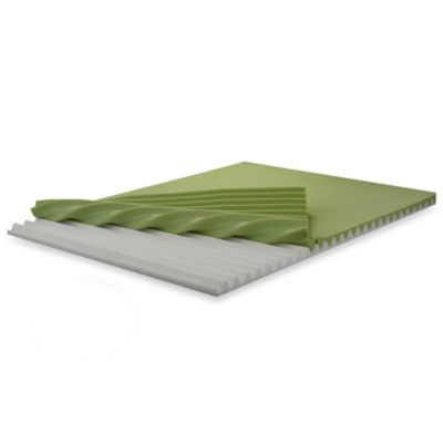 BIOS™ Customizable Relief Memory Foam Queen Mattress Topper