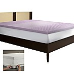 BIOS™ Back Support Memory Foam Mattress Topper in Lavender