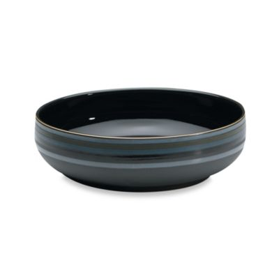 Denby Jet Stripes Serving Bowl