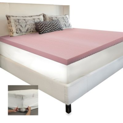 BIOS™ Energizing Performance Hybrid Foam Twin Mattress Topper