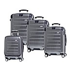 Ricardo Beverly Hills® Roxbury Luggage Collection in Brushed Silver