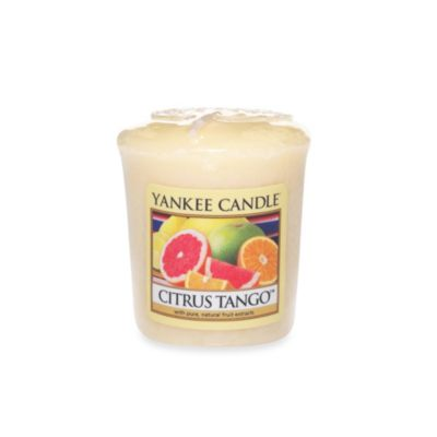 Yankee Candle® Samplers® Citrus Tango™ Wrapped Votive Candle