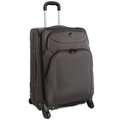 "Traveler's Club 29"" Expandable 4-Wheel Spinner Luggage in Charcoal"