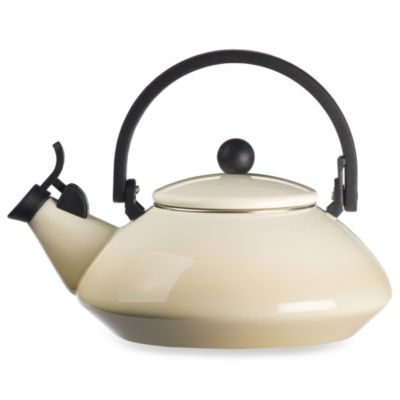 Le Creuset® Zen 1.6-Quart Tea Kettles in Dune
