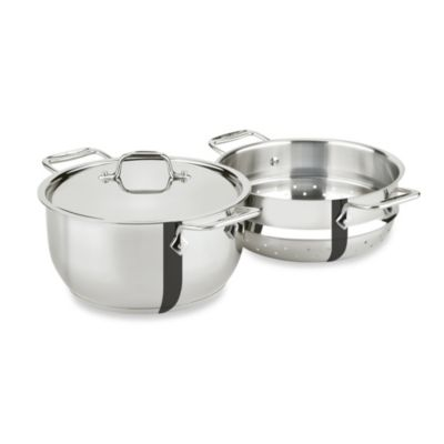 All-Clad 5-Quart Stainless Steel Steamer