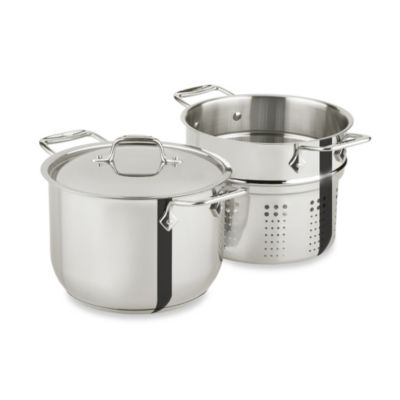 Steel All-Clad Stainless Steel Pots