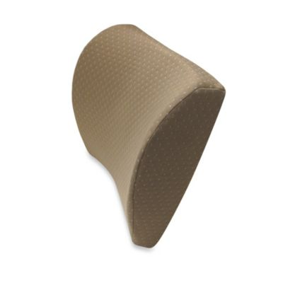 Therapedic® Super Soft Memory Foam Lumbar Pillow in Taupe